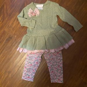 Adorable 12 month sweater set!!!